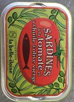 Sardine à la tomate et à l'huile d'olive vierge - Produit