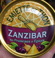 Emietté de thon zanzibar (pruneaux et épices) - Produit