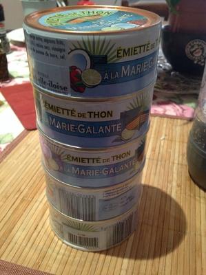 Pack de 4 boites d'émietté de thon à la marie-galante - Product - fr