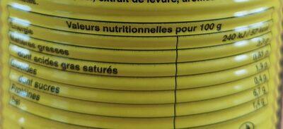 Soupe de poissons - Nutrition facts