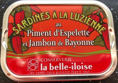 Sardines à la Luzienne - Prodotto