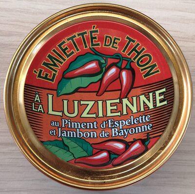 Emietté de thon à la Luzienne (Piment d'Espelette, jambon de Bayonne) - Produit