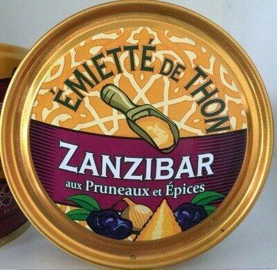 Émietté de thon Zanzibar aux pruneaux et épices - Produit - fr