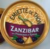 Émietté de thon Zanzibar aux pruneaux et épices - Produit