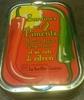 Sardines aux 2 piments, à l'huile d'olive vierge extra et sa note de citron - Product