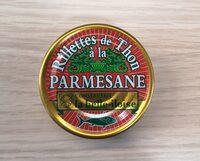 Rillettes de Thon à la Parmesane - Product - fr