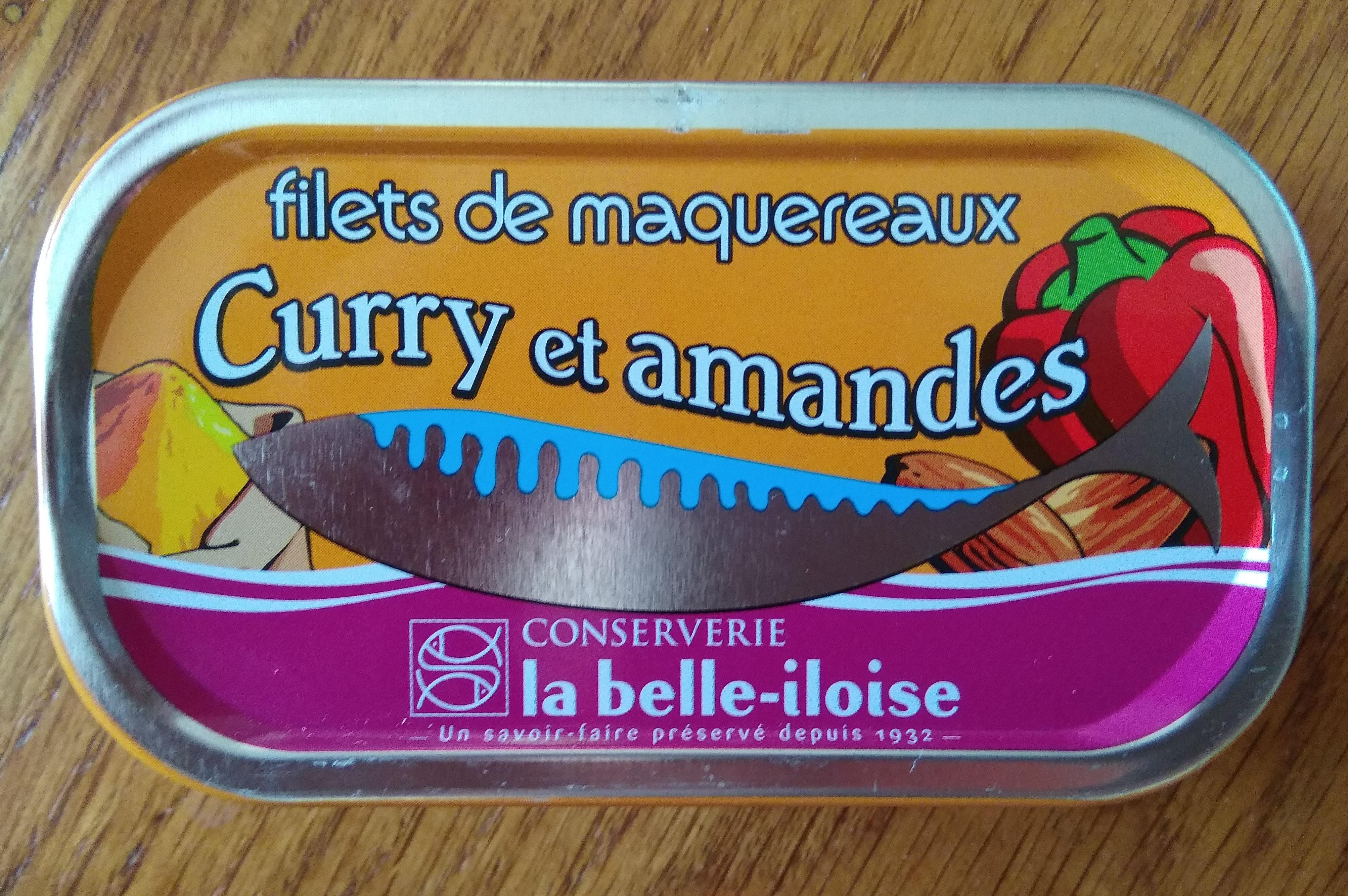 Filets de maquereaux cuisinés aux curry et amandes - Product - fr