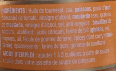 Sauce rouille - Ingredients