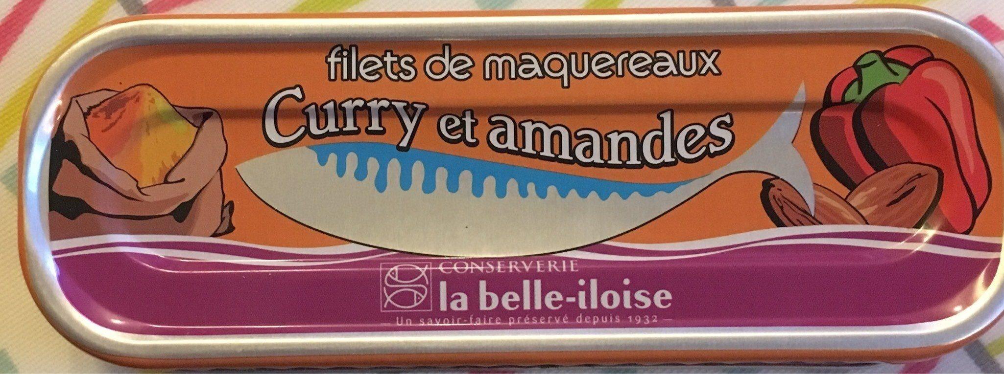 Filets de maquereaux curry et amandes - Product - fr