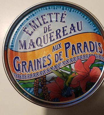 Émietté de maquereau aux graines de paradis - Product