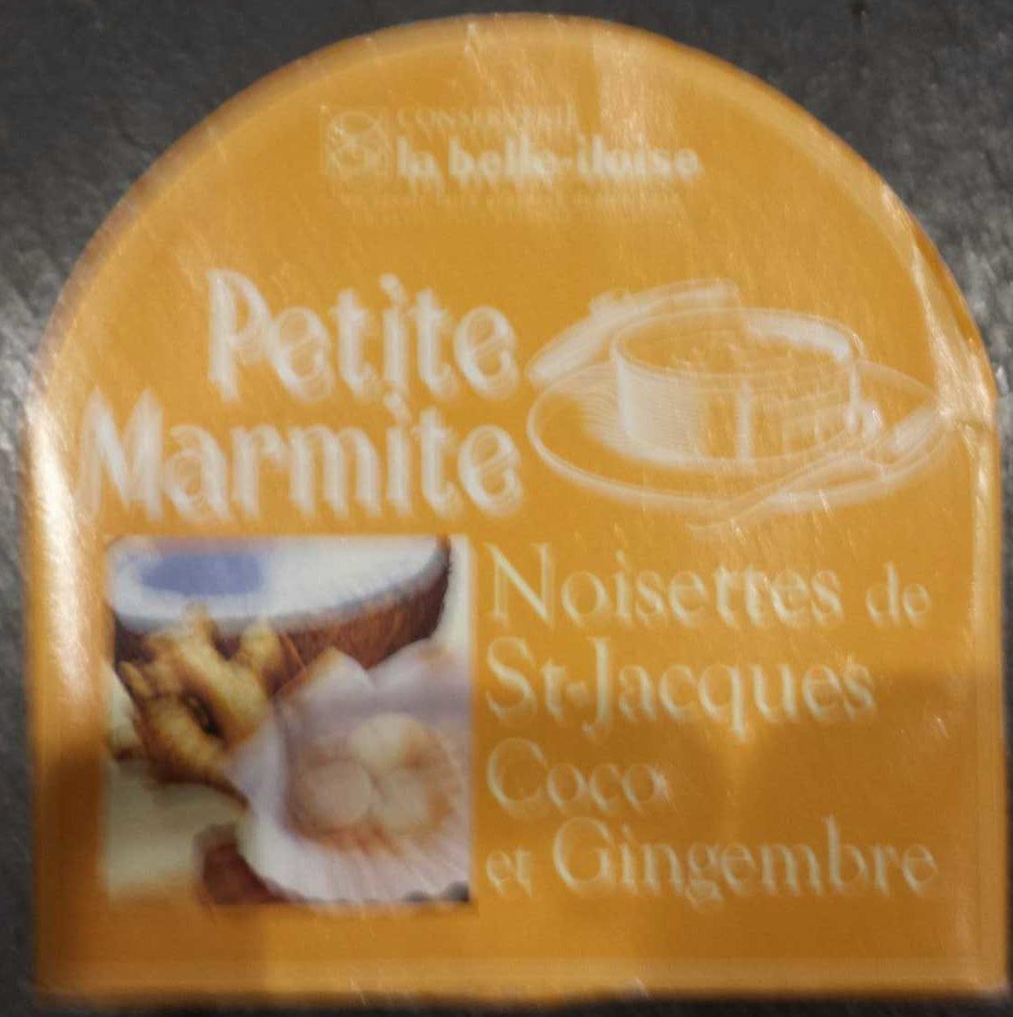 Petite marmite St-Jacques Coco et Gingembre - Produit