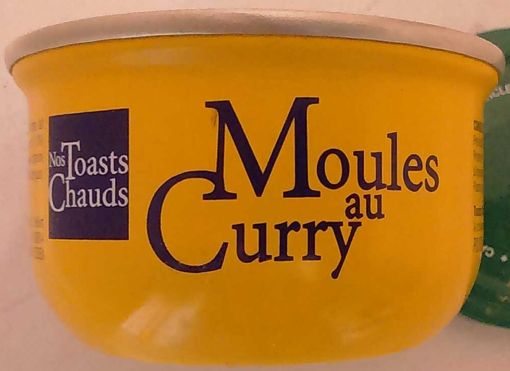 Nos Toasts Chauds Moules au Curry - Product