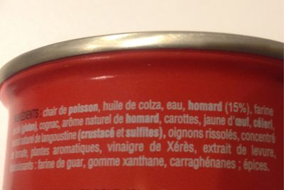 Nos toasts chauds - Informations nutritionnelles
