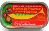 Filets de maquereaux herbes de Provence et épices Harissa - Produit