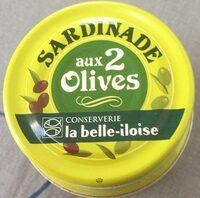 Sardinade aux 2 olives - Produit - fr