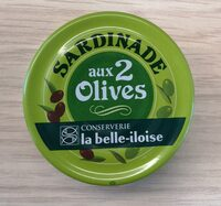 Sardinade aux 2 olives - Produit