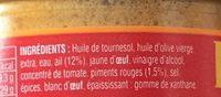 Rouille ail et piment - Ingrediënten - fr