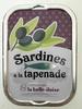 Sardines à la tapenade - Produit