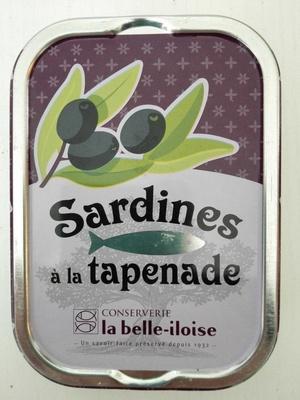 Sardines à la tapenade - Product