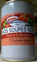 Nos soupes repas Thon à la basquaise - Product