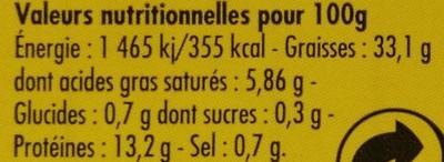 Filets de maquereaux huile d'olive citron et 5 baies - Voedigswaarden