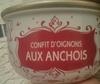 Confit d'oignons aux anchois - Produit