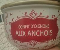 Confit d'oignons aux anchois - Product