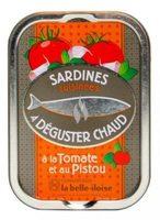 Sardines cuisinées à déguster chaud à la tomate et au pistou - Prodotto - fr