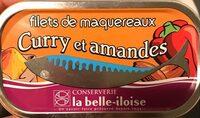 Filets de maquereaux curry et amandes - Produit - fr
