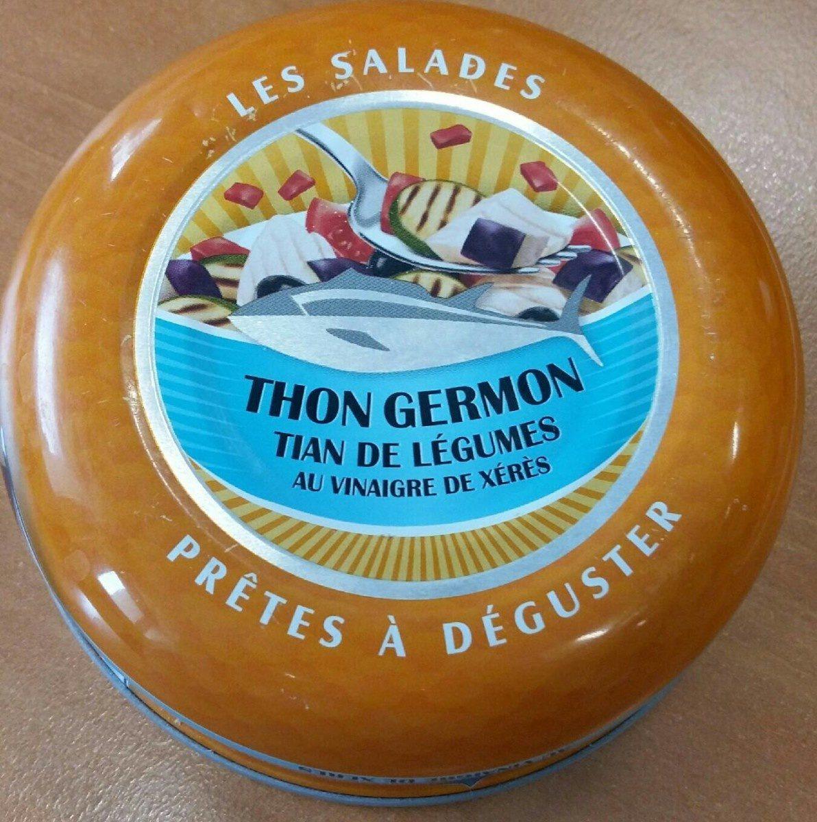 Salade de Thon germon, tian de légumes au vinaigre de Xérès - Product