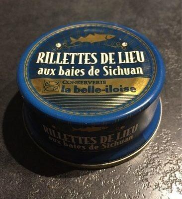 Rillettes de Lieu aux Baies de Sichuan - Produit - fr