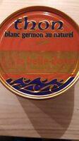 Thon blanc germon au naturel - Prodotto - fr