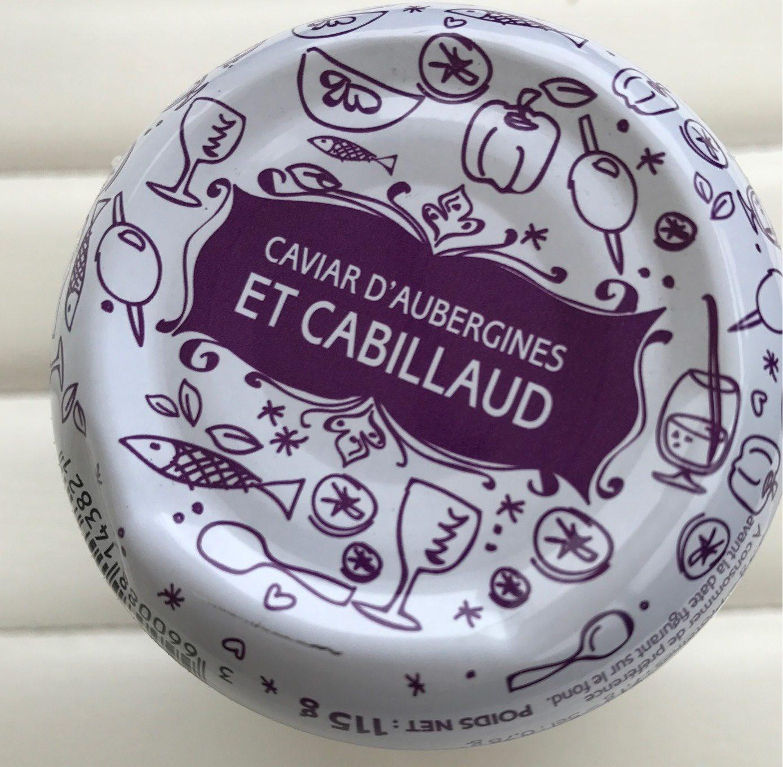 Caviar d'aubergines et cabillaud - Product
