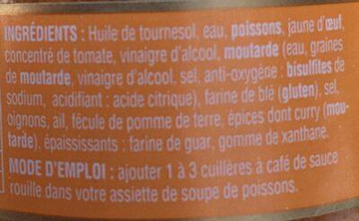 Sauce rouille - Ingredients