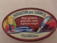 Préparation pour sandwich - Produit - fr