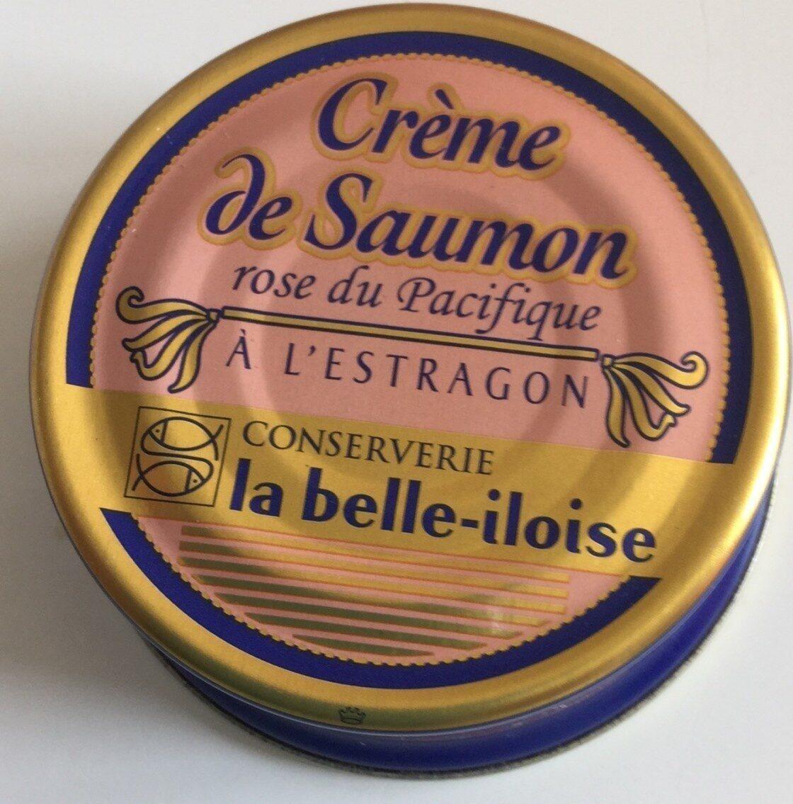 Crème de Saumon rose du Pacifique  à l'estragon - Produit
