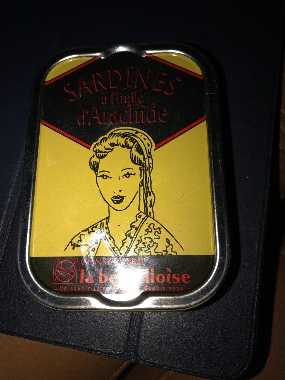 Sardines à l'huile d'arachide - Prodotto - fr