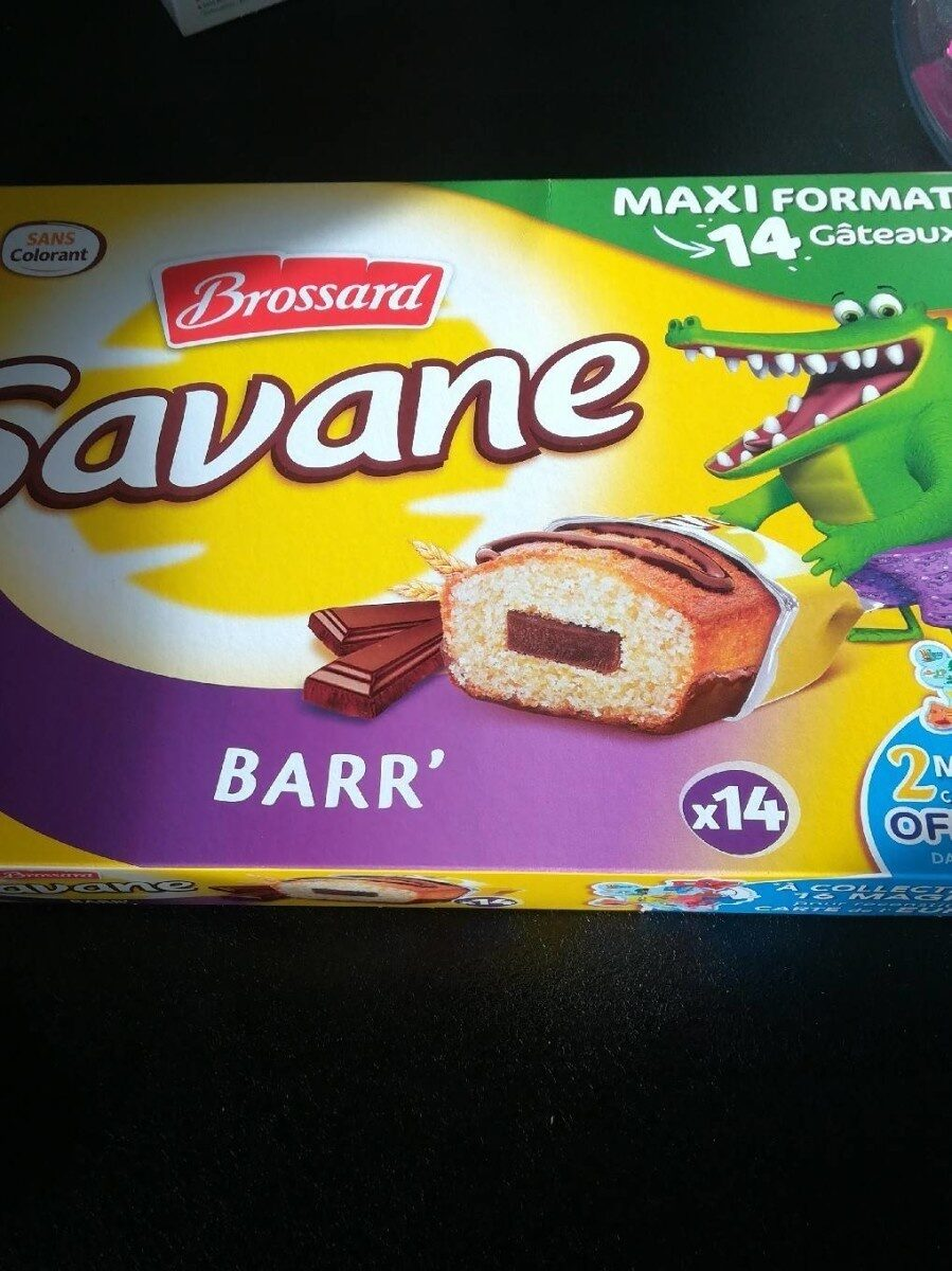 Savane Pocket x 14 Barr - Voedingswaarden - fr