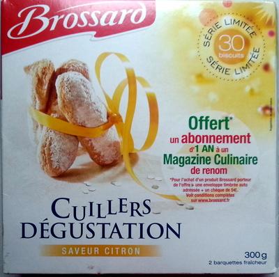 Cuillers Dégustation Saveur Citron - Product