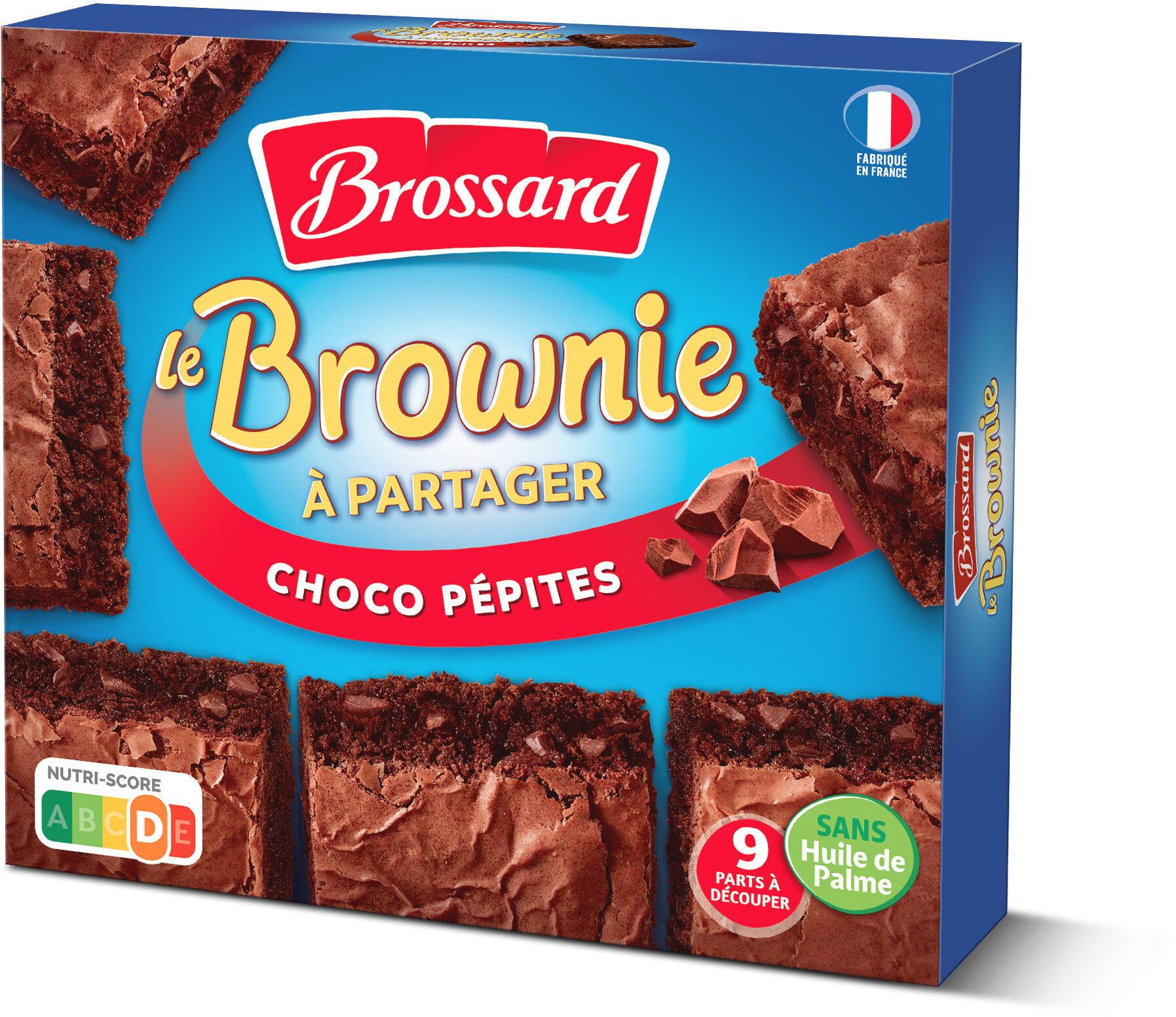 Brossard - brownie familial pepites de chocolat 285gr - Prodotto - fr
