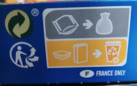 Le Brownie Chocolat Pépites - Instruction de recyclage et/ou information d'emballage - fr