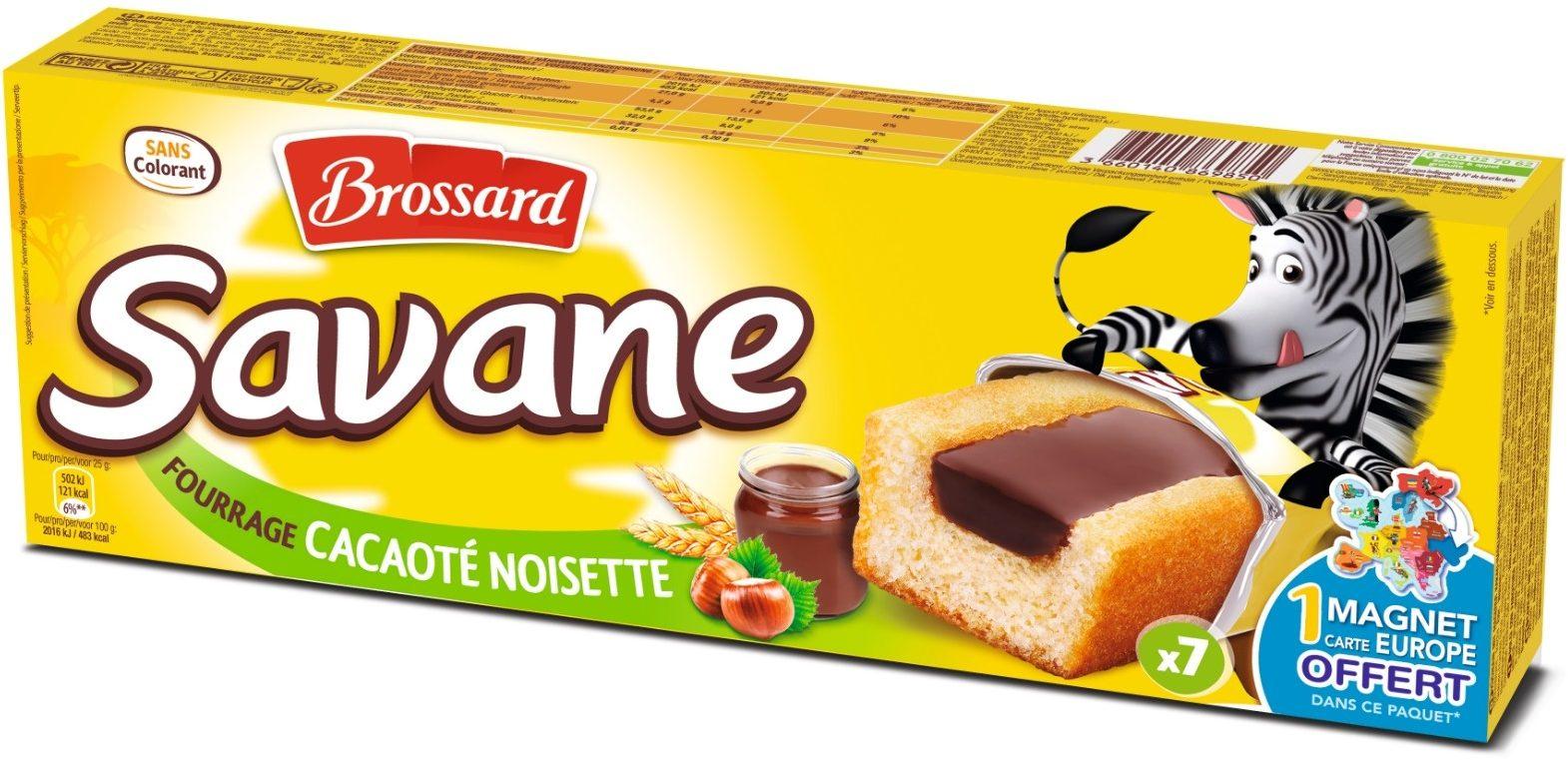 Savane Pocket Fourrage Cacaoté Noisette - Produit - fr