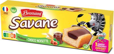 Savane pocket x7 cacao-noisette 175g - Produit - fr