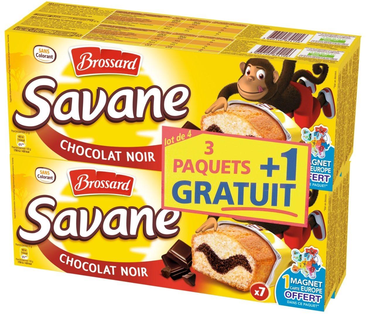 Savane Pocket Chocolat Noir LOT 3 + 1 - Prodotto - fr