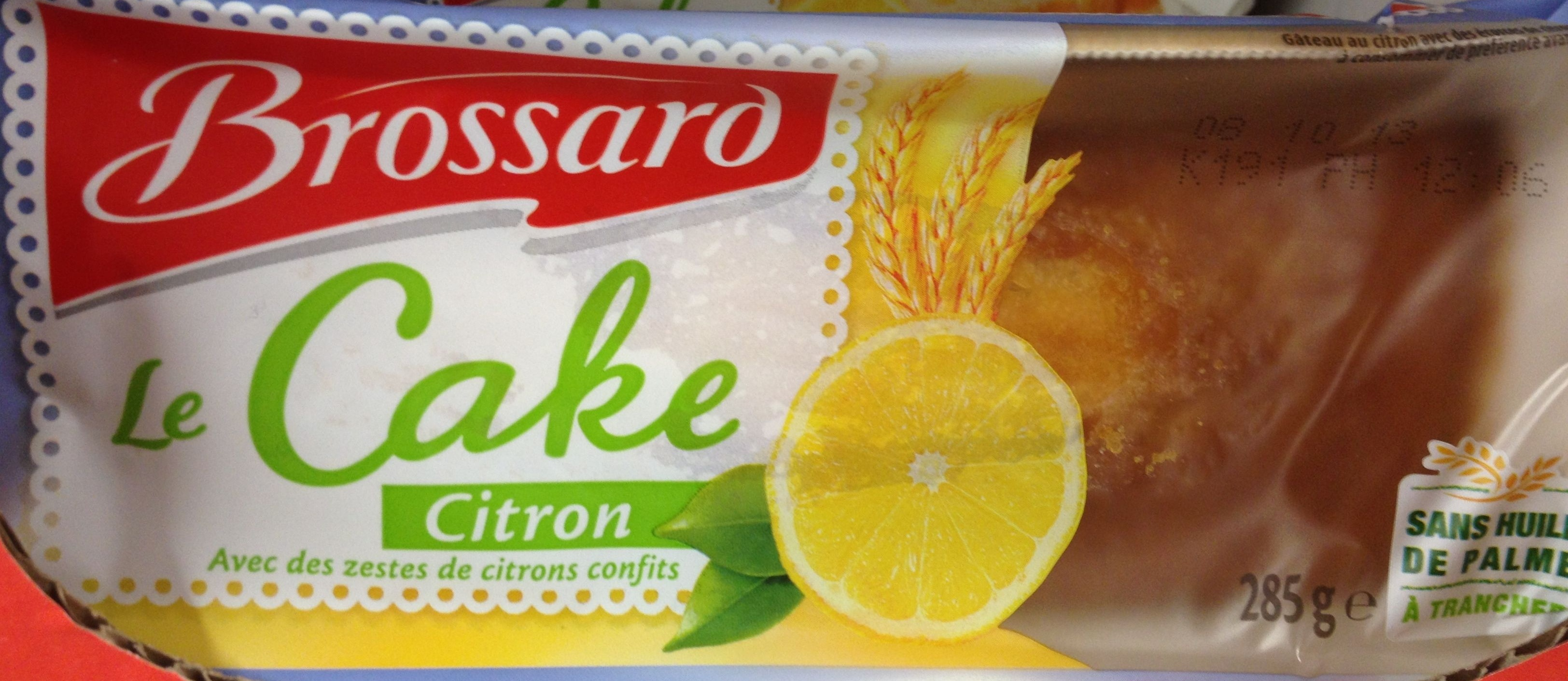 Le cake citron - Product