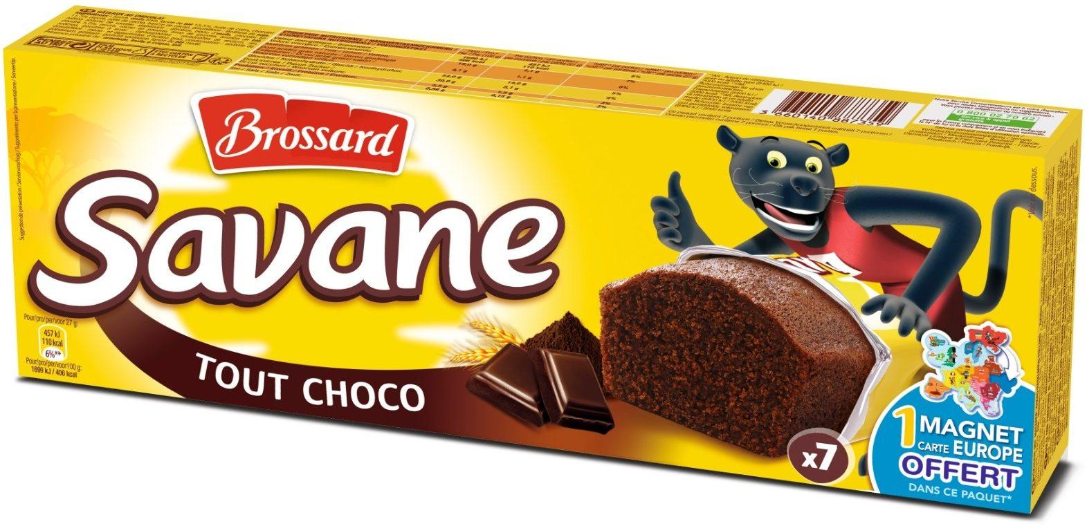 Savane tout chocolat - Produit - fr