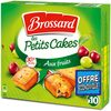 Brossard - mini cake fruits x10 300g offre eco - Produkt
