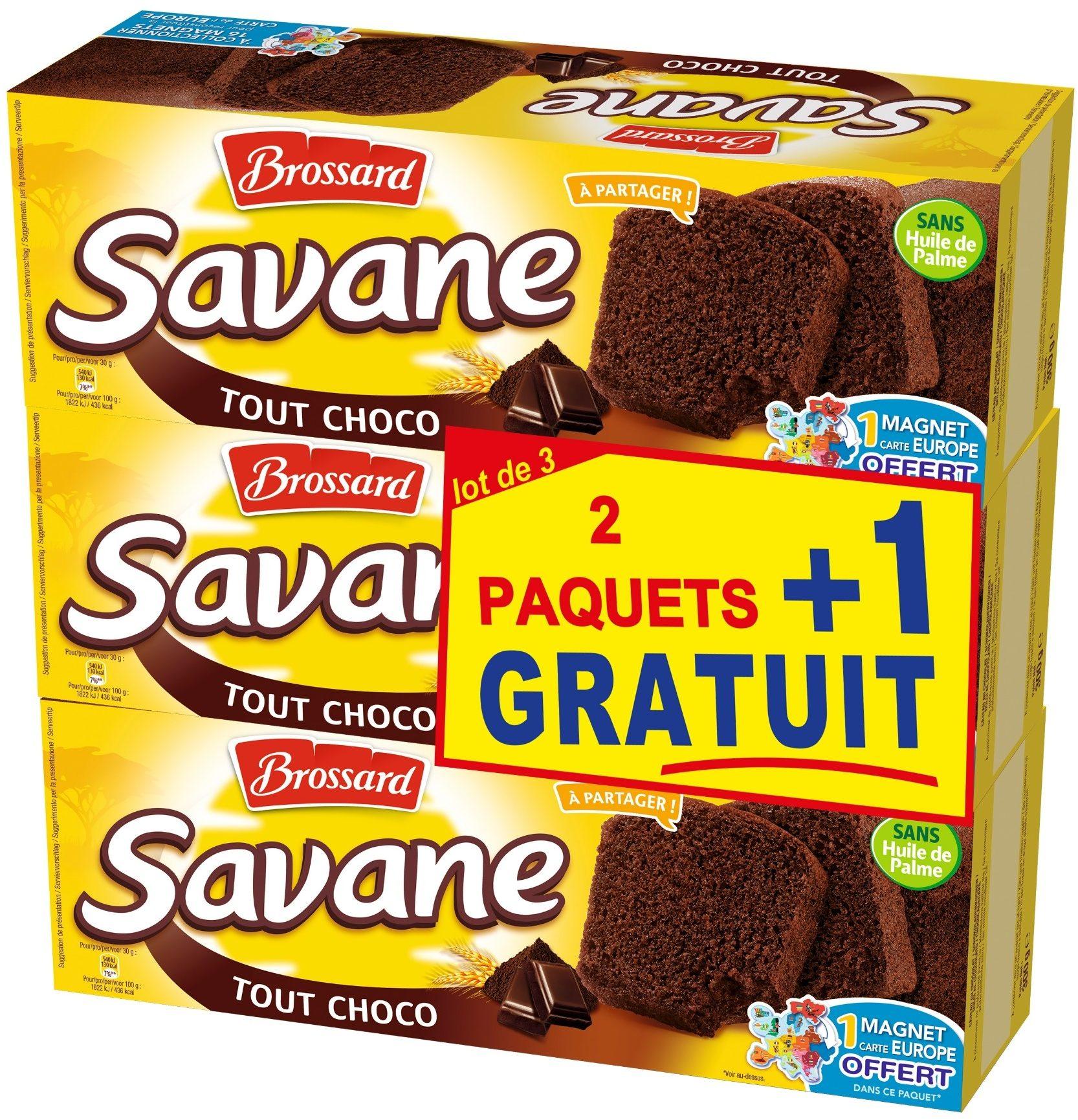 Savane Tout Chocolat 2 +1 offert - Product