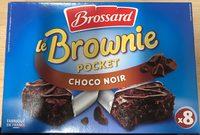 Le Brownie Pocket Choco Noir - Produit - fr