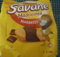 Savane madeleines marbrées - Produit - fr